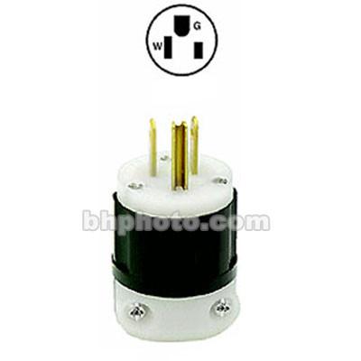 ETC Edison Connector, Black - Male, 15 Amps