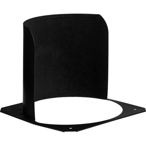 ETC Black Half Hat for Source 4 Pars - 6""