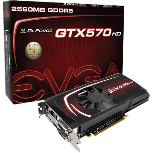 EVGA nVIDIA GeForce GTX 570 HD 2 GB GDDR5 Graphics Card