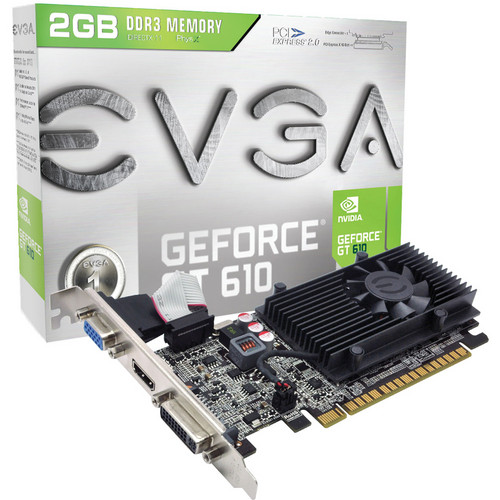EVGA NVIDIA GeForce GT 610 Graphics Card