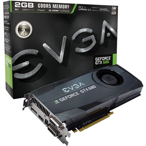 EVGA nVIDIA GeForce GTX 680 2 GB GDDR5 Graphics Card