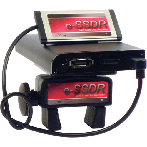 E-Films e-HDRM-SSD Portable SSD Recording System for Sony EX Cameras