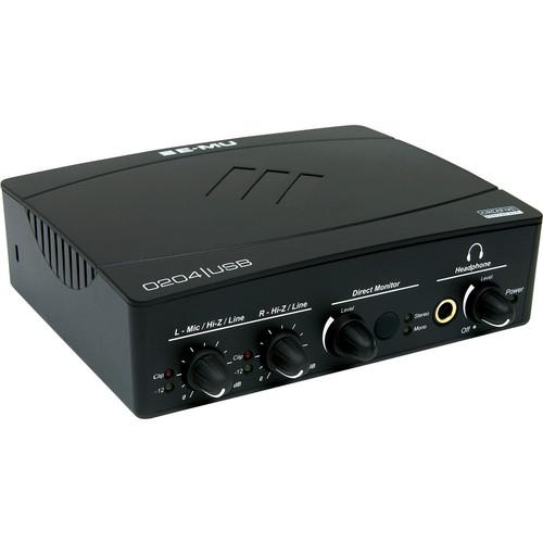 E-MU 0204 USB 2.0 - USB Audio Interface