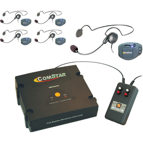 Eartec XT-Plus Com-Center with 5 COMPAK Headsets