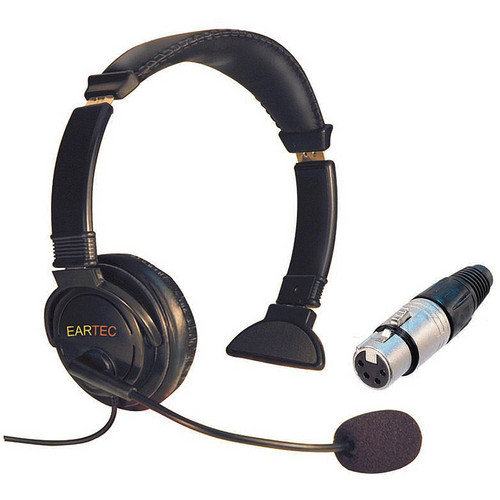 Eartec Lazer Single-Ear Intercom Headset (4-Pin XLR-F)