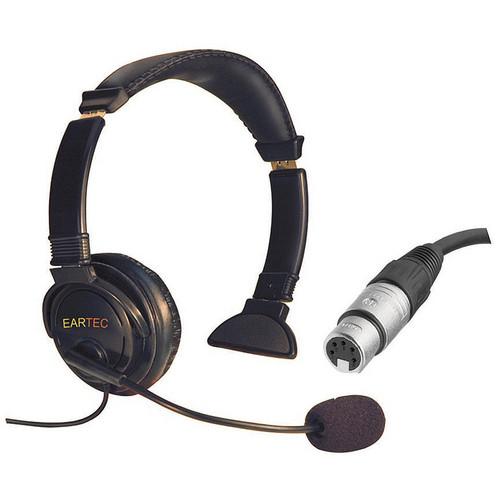 Eartec Lazer Single-Ear Intercom Headset (5-Pin XLR-F)