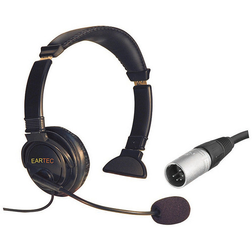 Eartec Lazer Single-Ear Intercom Headset (5-Pin XLR-M)