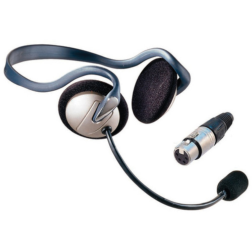 Eartec Monarch Behind-the-Neck Communications Headset (4-Pin XLR-F)