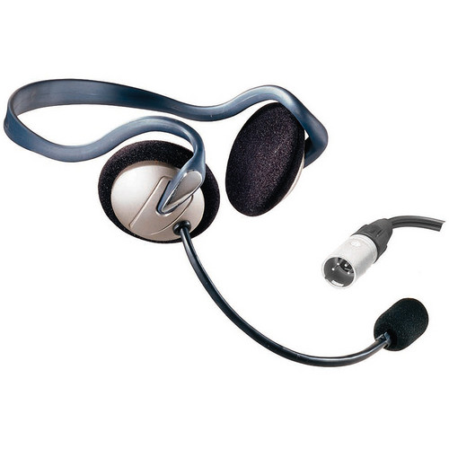 Eartec Monarch Behind-the-Neck Communications Headset (5-Pin XLR-M)
