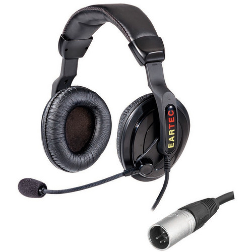Eartec ProLine Double Around-Ear Communications Headset (5-Pin XLR-M)