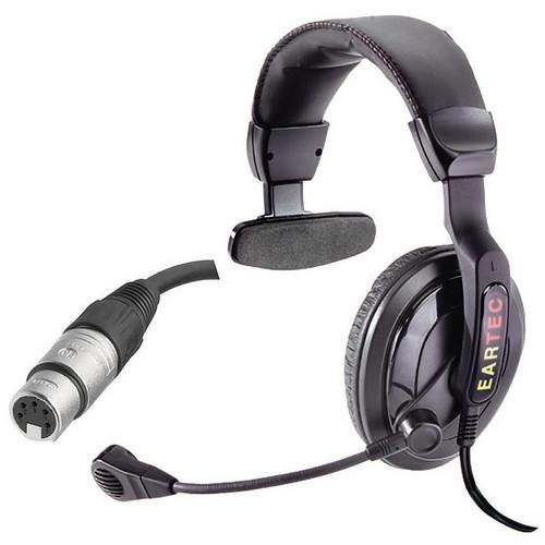 Eartec ProLine Single Around-Ear Communications Headset (5-Pin XLR-F)