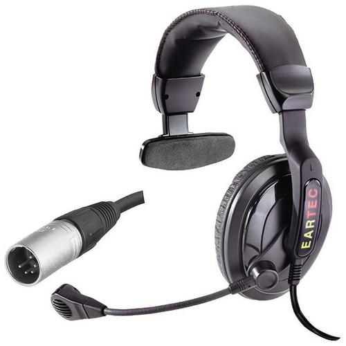 Eartec ProLine Single Around-Ear Communications Headset (5-Pin XLR-M)