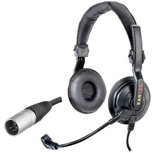 Eartec Slimline Double On-Ear Communications Headset (5-Pin XLR-M)