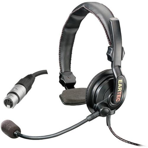 Eartec Slimline Single On-Ear Communications Headset (5-Pin XLR-F)