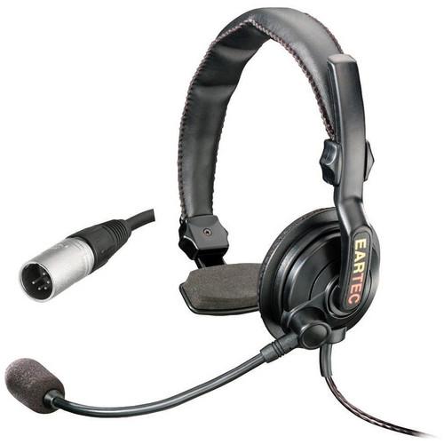 Eartec Slimline Single On-Ear Communications Headset (5-Pin XLR-M)