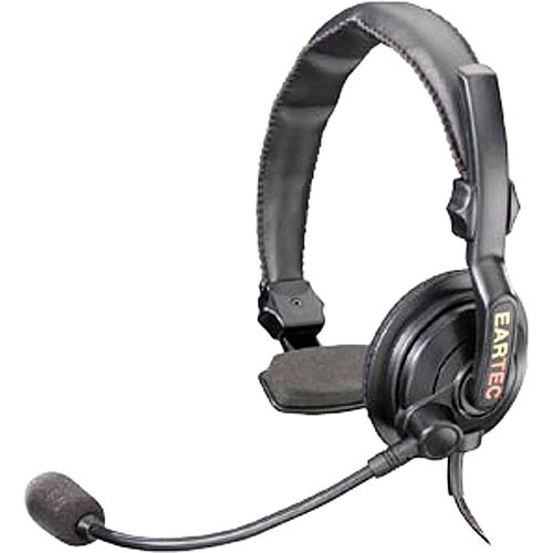 Eartec SlimLine Single Headset for MC-1000 Competitor 2-Way Radio