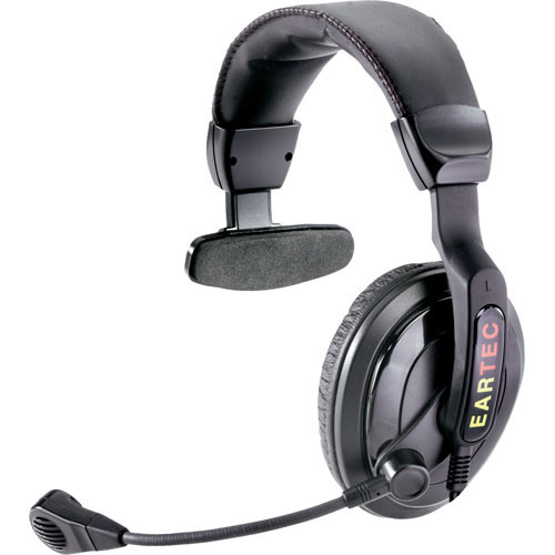 Eartec ProLine Single-Ear Communication Headset (TCS)