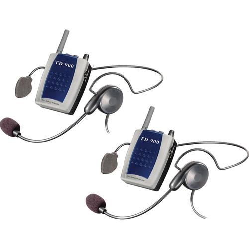 Eartec TD902 - Full Duplexing Portable 2-Person Intercom
