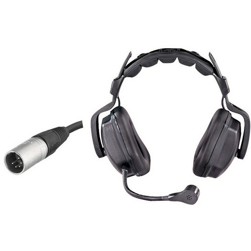 Eartec Ultra Double Around-Ear Intercom Headset (5-Pin XLR-M)