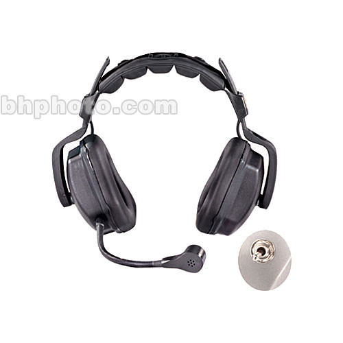 Eartec Ultra Heavy-Duty Dual-Ear Headset with Camera Monitor Input (TCS)