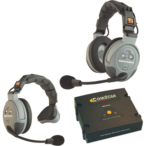 Eartec COMSTAR XT-2 2-User Full Duplex Wireless Intercom System (Australia)
