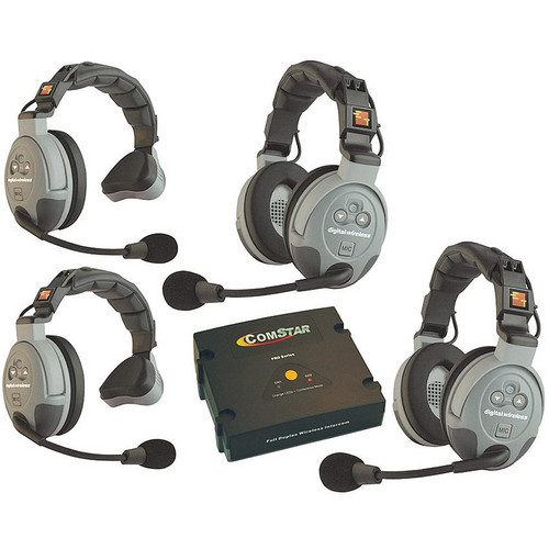 Eartec COMSTAR XT-4 4-User Full Duplex Wireless Intercom System