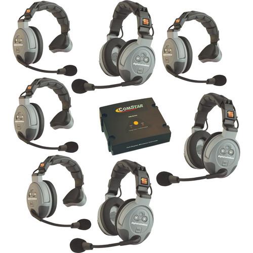 Eartec COMSTAR XT 7-User Full Duplex Wireless Intercom System