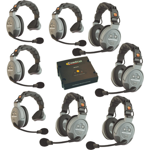 Eartec COMSTAR XT 8-User Full Duplex Wireless Intercom System