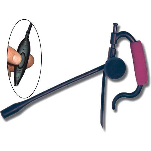 Eartec Edge Inline PTT Headset for SC-1000 Radio Transceiver