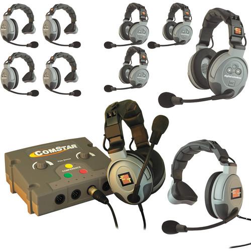 Eartec COMSTAR Flex Max Series 10-User Full Duplex Intercom System