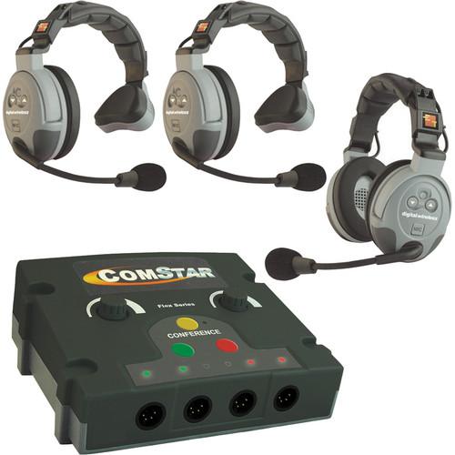 Eartec COMSTAR Flex Max Series 3-User Full Duplex Intercom System