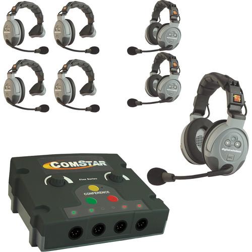 Eartec COMSTAR Flex Max Series 7-User Full Duplex Intercom System