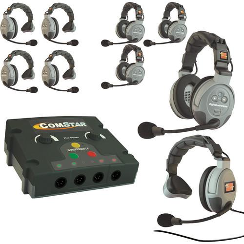 Eartec COMSTAR Flex Max Series 9-User Full Duplex Intercom System