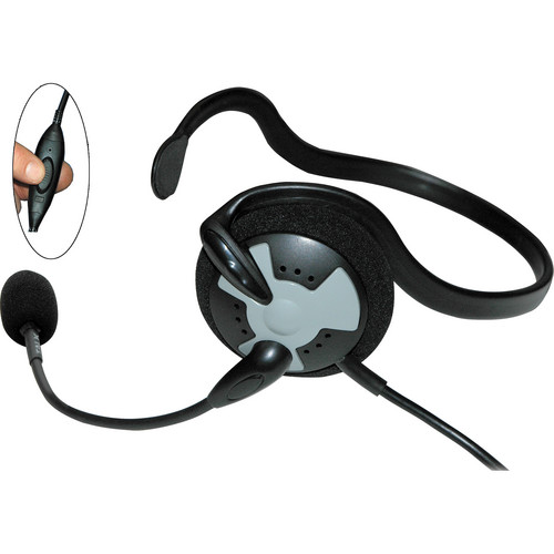 Eartec Fusion Inline PTT Headset for SC-1000 Radio Transceiver