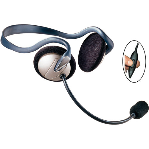 Eartec Monarch Inline PTT Headset for SC-1000 Radio Transceiver