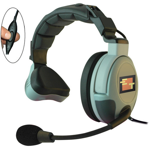 Eartec Max3G Single Headset with Inline PTT