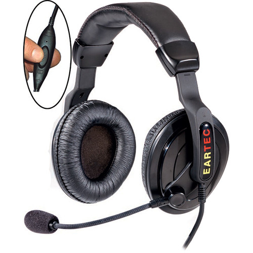 Eartec SC-1000 Proline Double Inline PTT Headset