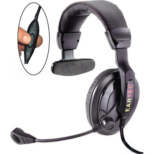 Eartec SC-1000 Proline Single Inline PTT Headset