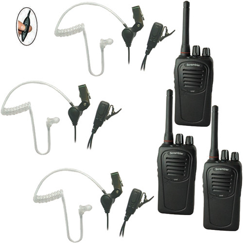 Eartec 3-User SC-1000 Two-Way Radio System with SST Headsets