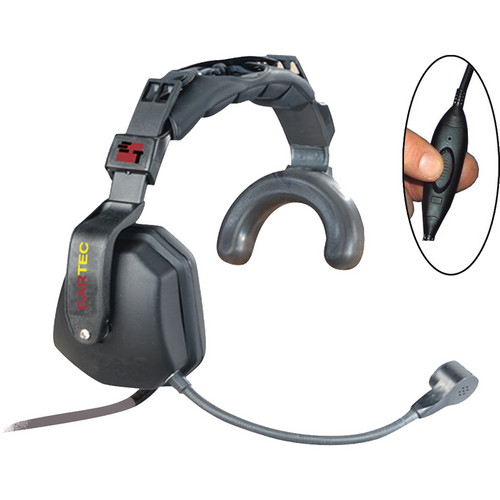 Eartec Ultra Single Inline PTT Headset for SC-1000 Radio Transceiver