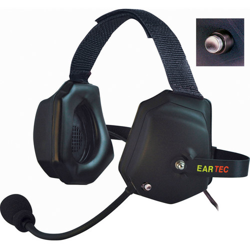 Eartec XTreme Shell Mount PTT Headset for SC-1000 Radio Transceiver
