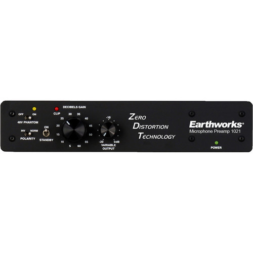 Earthworks 1021 Microphone Preamp