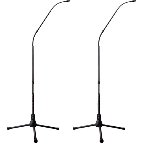 Earthworks FW430 FlexWand Series 30 kHz High Definition Hypercardioid Microphone (Matched Pair, Tripod Base)