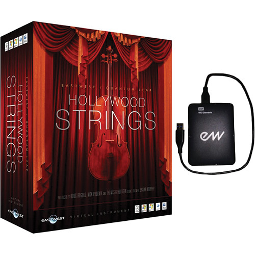 EastWest Hollywood Strings - Virtual Instrument (Mac)