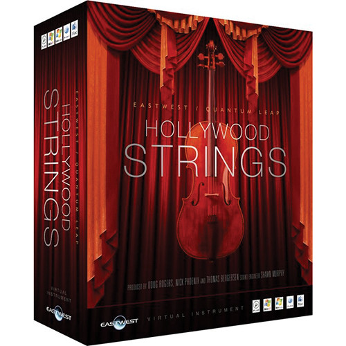EastWest Hollywood Strings Gold Edition - Virtual Instrument (Mac)