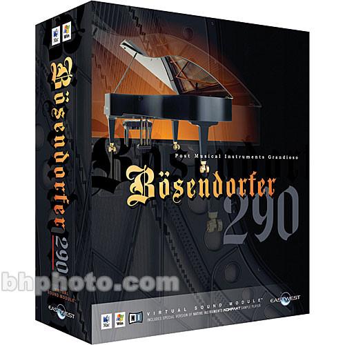 eastwest pmi bosendorfer 290 sampled grand piano virtual ew 157. Black Bedroom Furniture Sets. Home Design Ideas