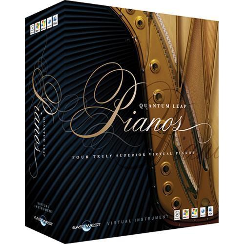 EastWest Quantum Leap Pianos - Virtual Instrument- Gold Edition