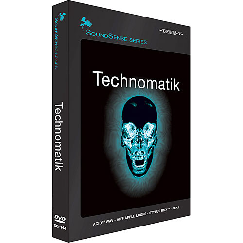 Zero-G Sample CD: SoundSense TECHNOMATIK (ACID, AIFF, Rex2 and Stylus RMX)