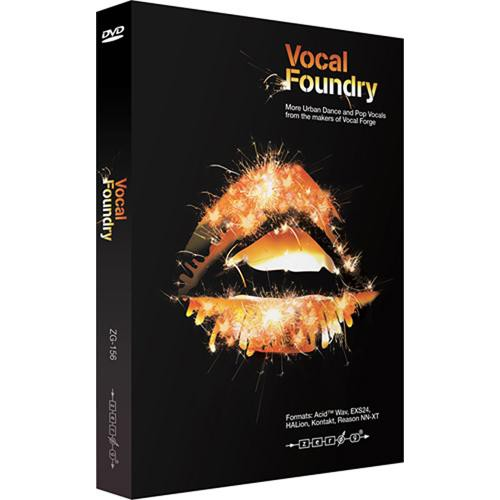 Zero-G Vocal Foundry - Urban, Dance, and Pop Vocal Sample Library