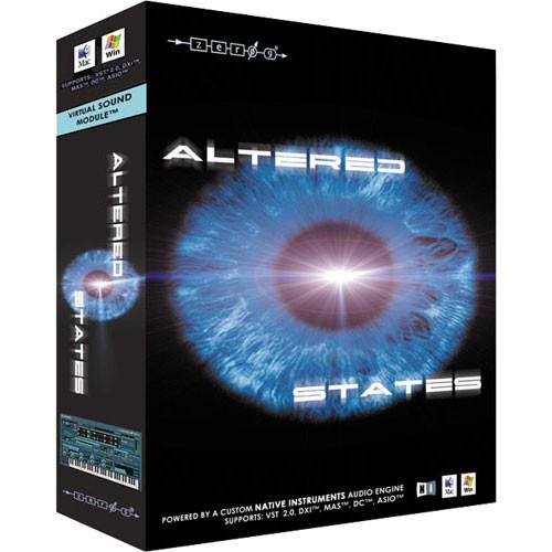 Zero-G Altered States - Virtuoso Sound Design Virtual Instrument